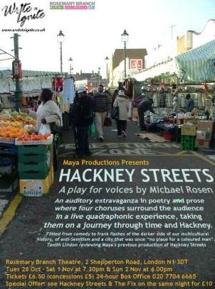 Hackney Under the Cranes.