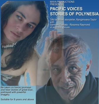 Pacific Voices – a national tour of polynesian stories and spoken word.