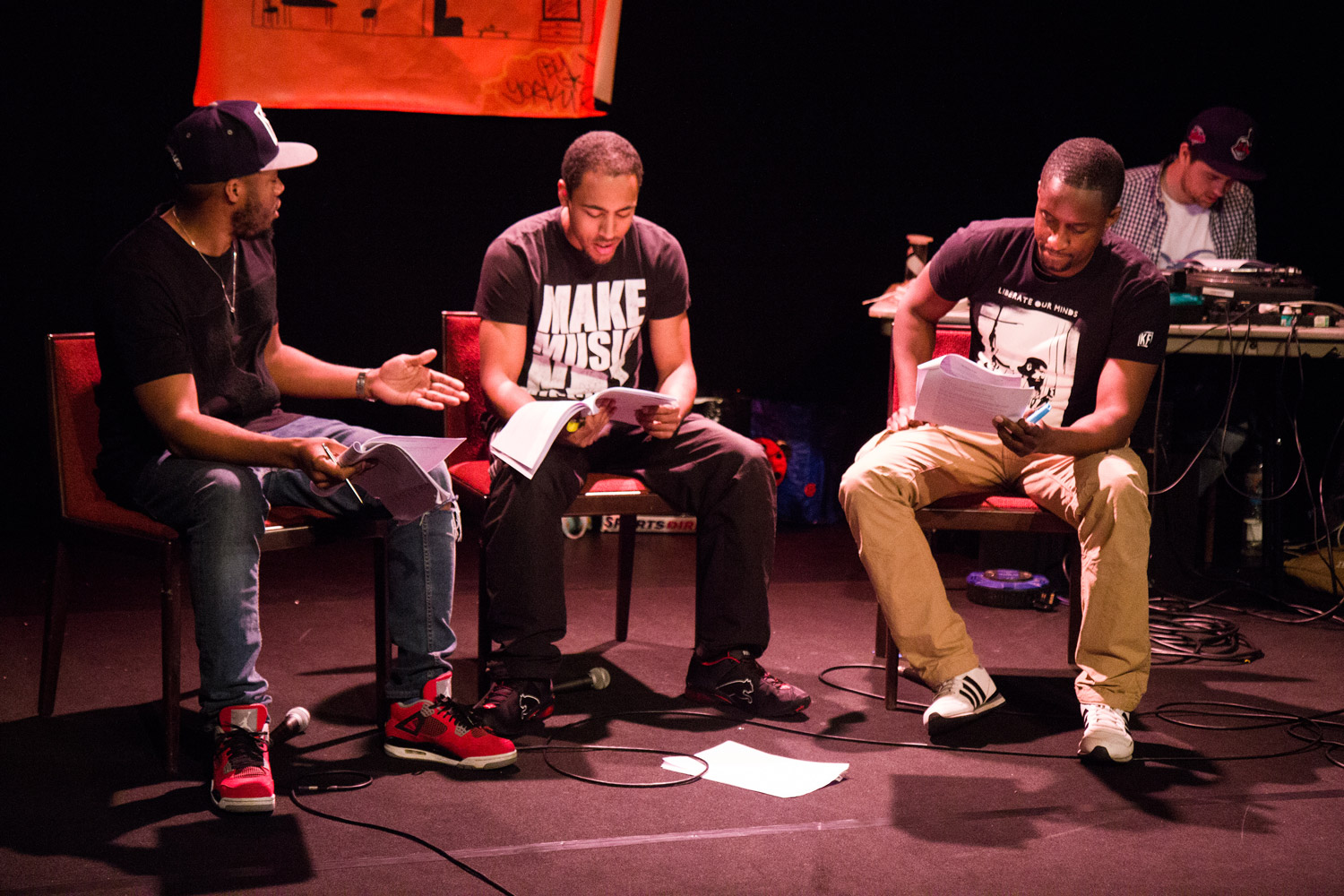 Up North By Jonny Wright A new North/South Hip Hop musical exploring black identity and the music industry.