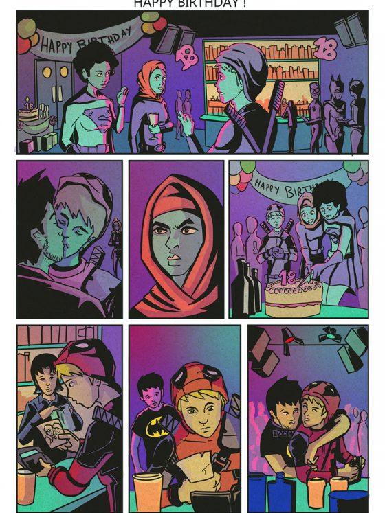 The Croydon Avengers Online Resource - Comic Book